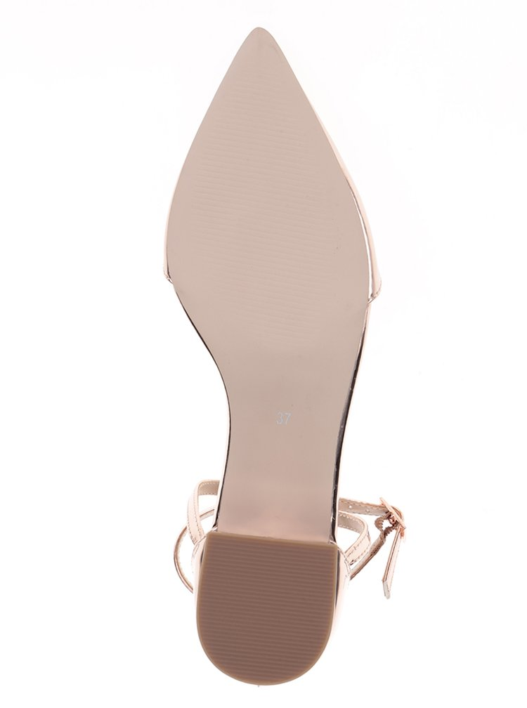 Pantofi roz deschis cu baretă Miss KG Ava