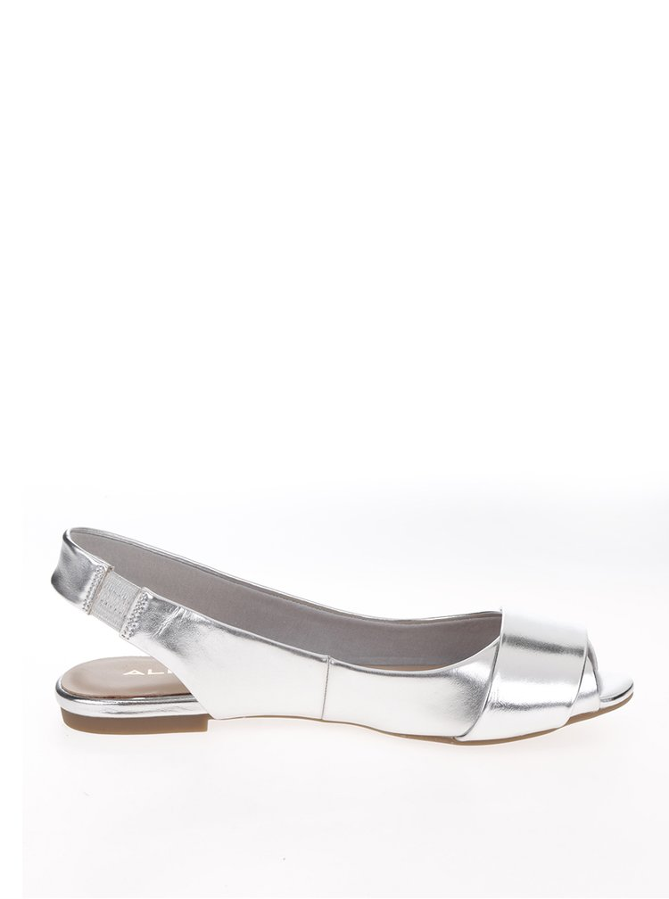 Baleríny ve stříbrné barvě ALDO Cicien