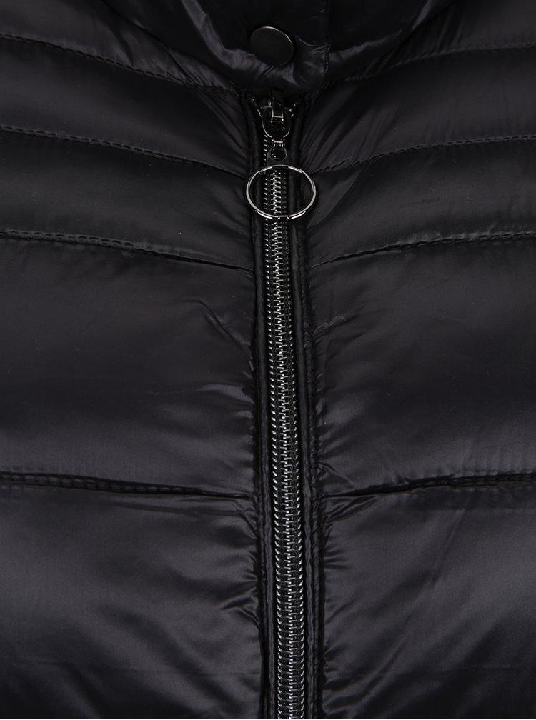 Černá prošívaná vesta VERO MODA Alma