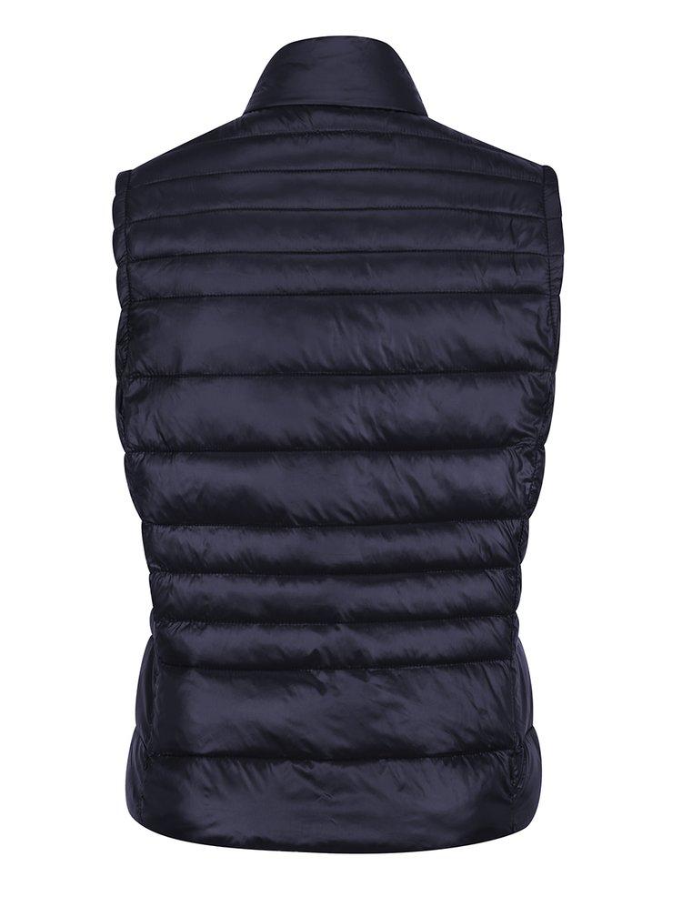 Tmavě modrá prošívaná vesta VERO MODA Alma