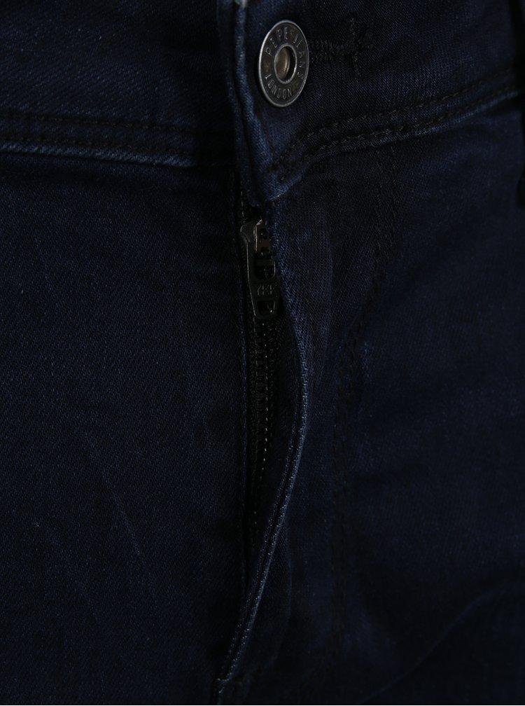 Modré pánské skinny džíny Pepe Jeans Finsbury