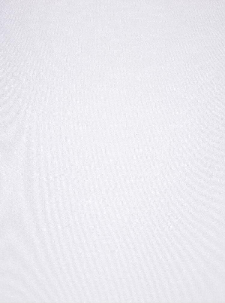 Bluză albă cu decolteu bărcuță ZOOT