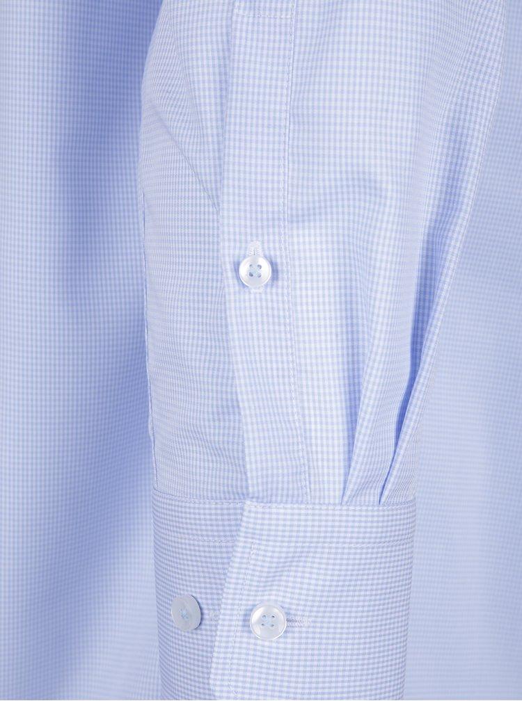 Cămașă albastru deschis modern fit cu model Seidensticker