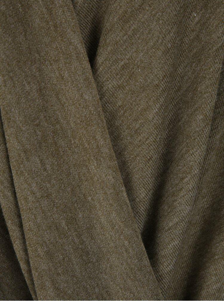 Bluza suprapusa verde melanj - VERO MODA Honie