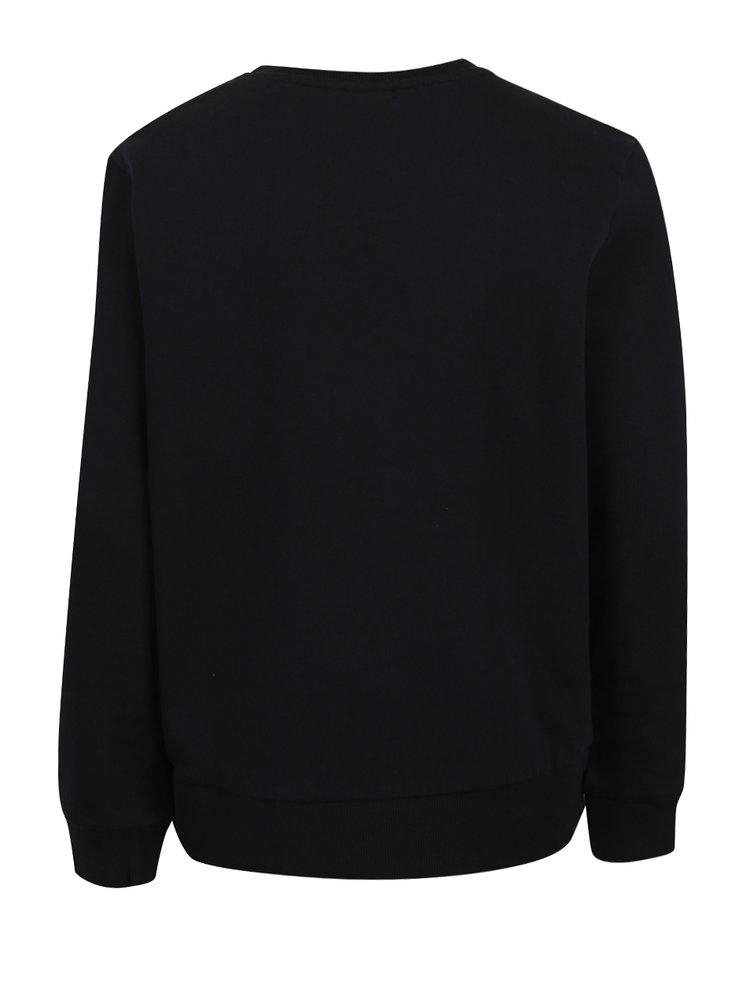Bluză neagră pentru băieți LIMITED by name it Range