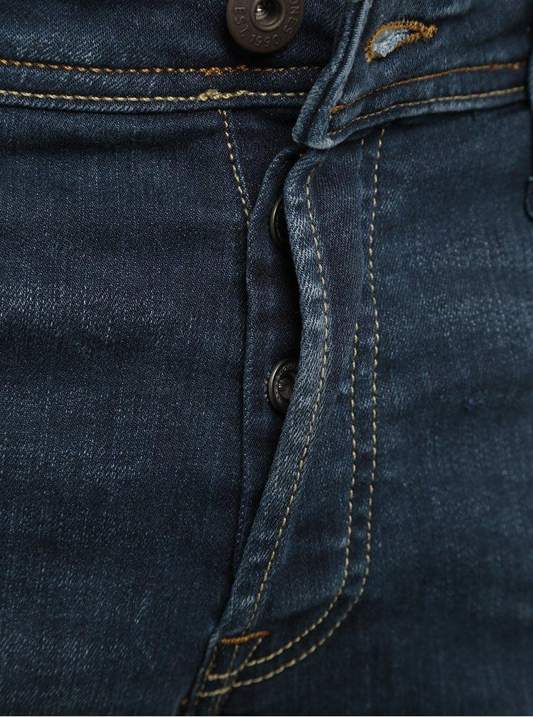 Tmavě modré slim fit džíny Jack & Jones Glenn