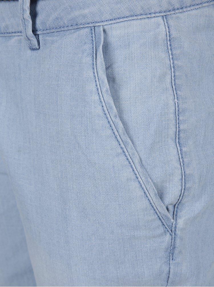 Blugi albastru deschis cu snur s.Oliver