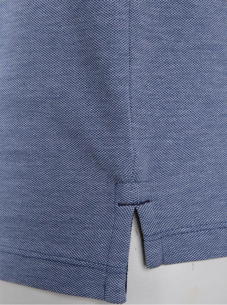 Modré polo tričko ONLY & SONS Stan