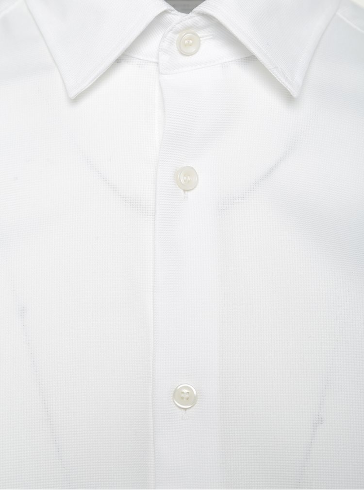 Bílá slim fit košile Selected Homme One Pen