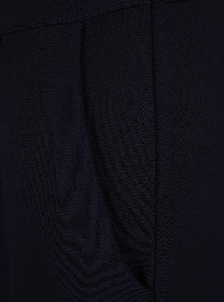 Tmavě modré šaty bez rukávů s.Oliver