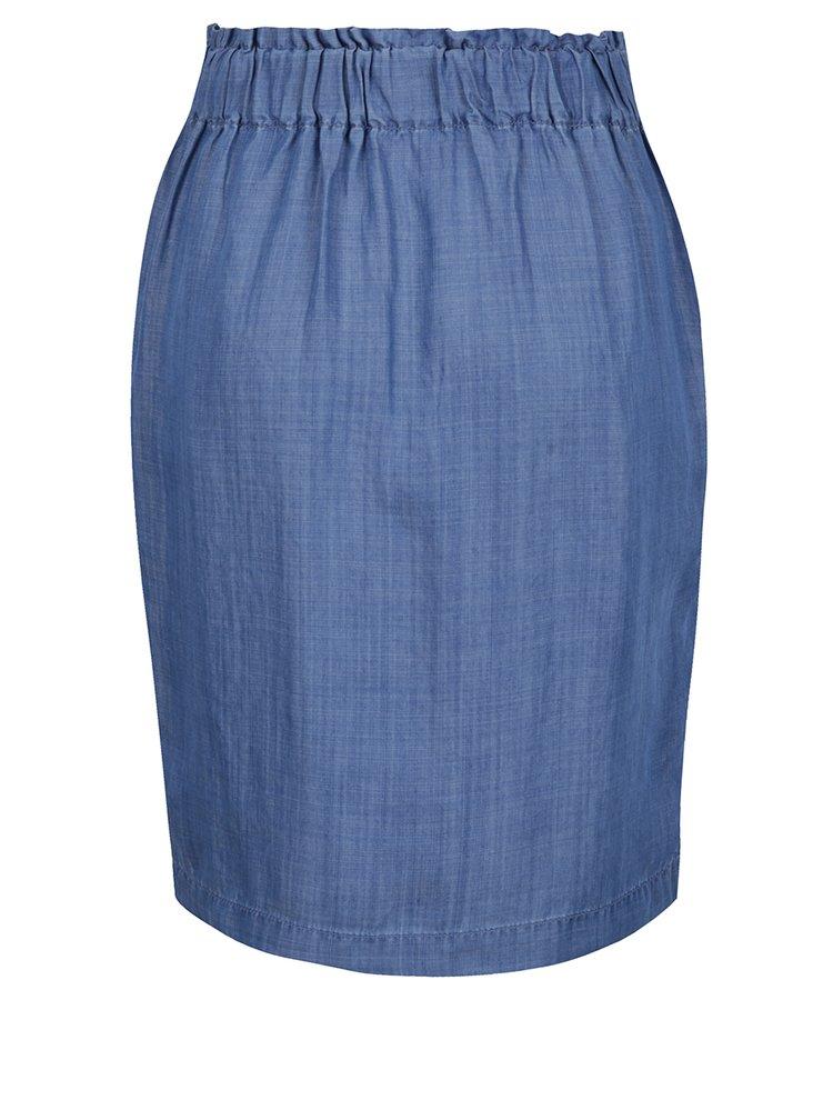 Světle modrá sukně s mašlí s.Oliver