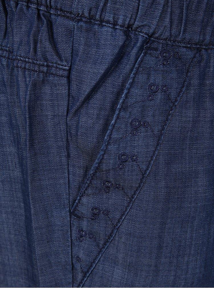 Tmavě modrý džínový overal s.Oliver