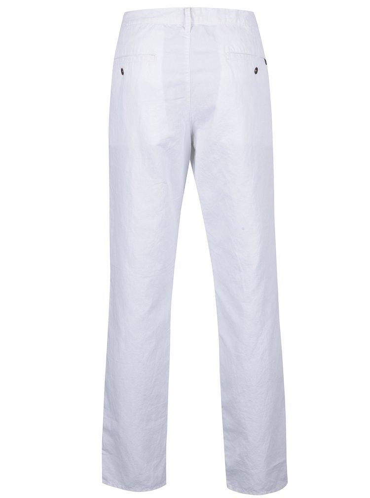 Pantaloni albi chino regular fit  s.Oliver