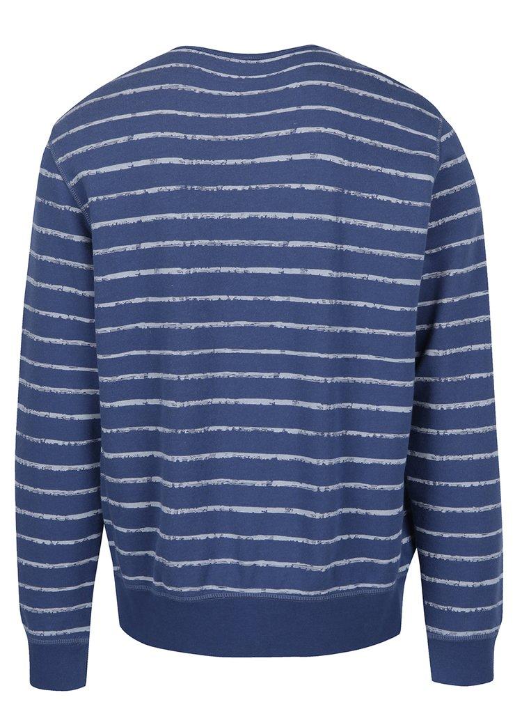 Bluză în dungi albastru cu alb pentru bărbați s.Oliver