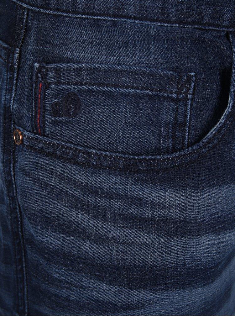 Tmavě modré pánské slim fit džíny s.Oliver
