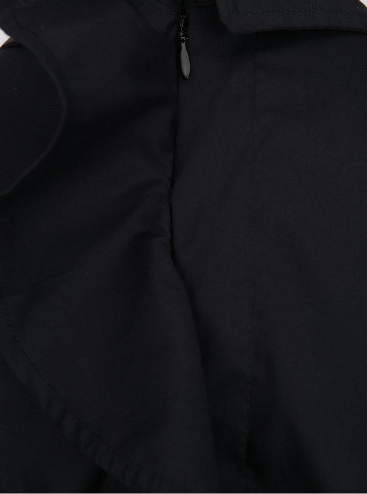Černá košile s volánem na zádech Noisy May Conansa