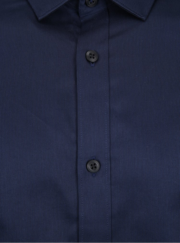 Camasa bleumarin slim fit Selected Homme Done