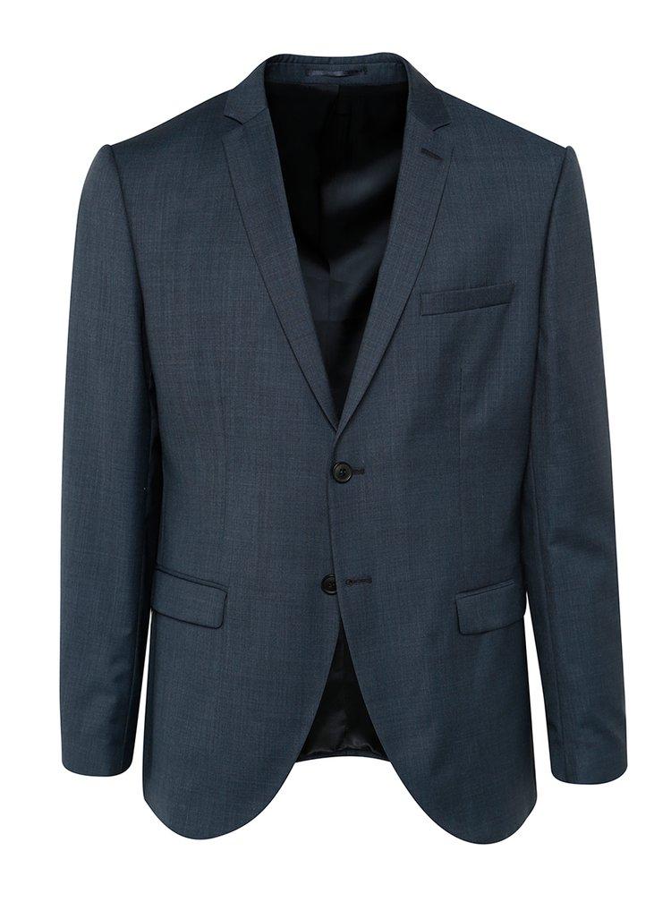Sacou bleumarin din lana Selected Homme Done