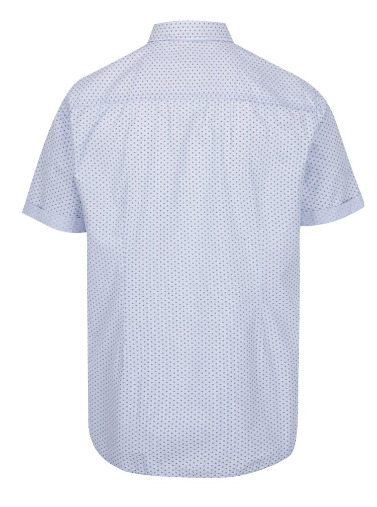 Camasa slim fit albastru & crem - s.Oliver