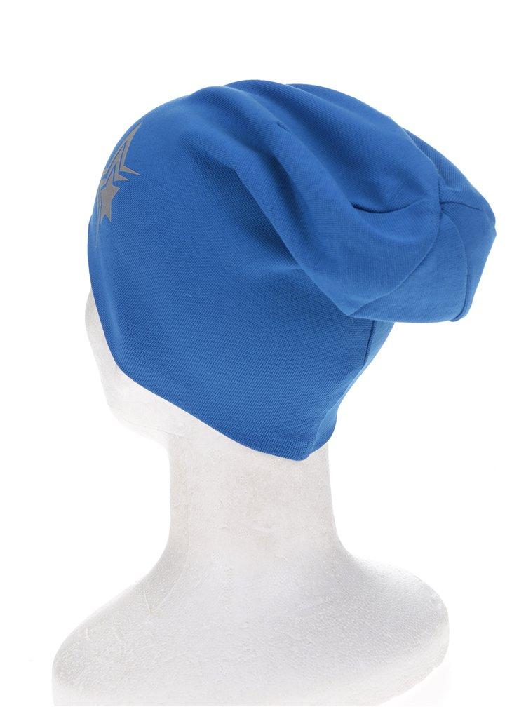 Modrá klučičí čepice s potiskem name it Moppy