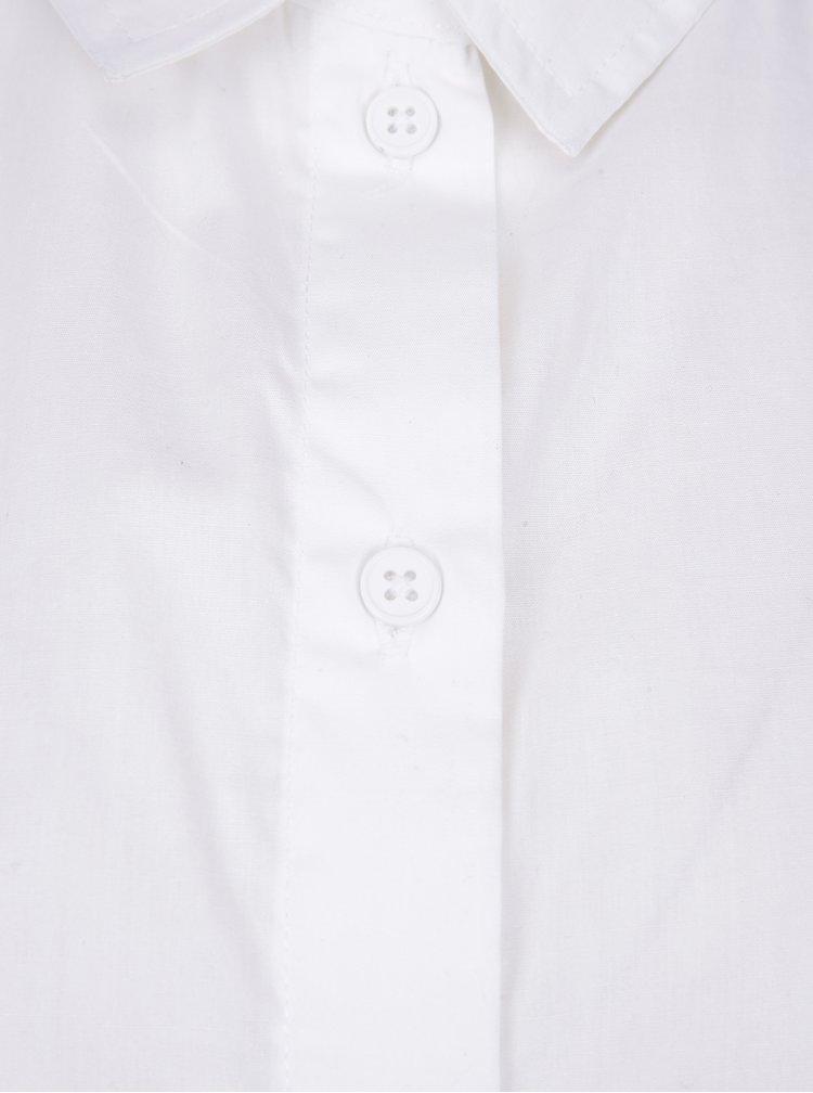 Camasa alba cu print - Noisy May Conansa