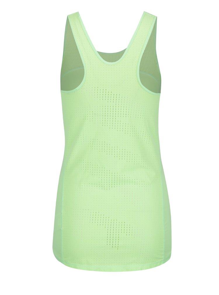 Neonově zelené dámské funkční tílko Nike Pro Hypercool
