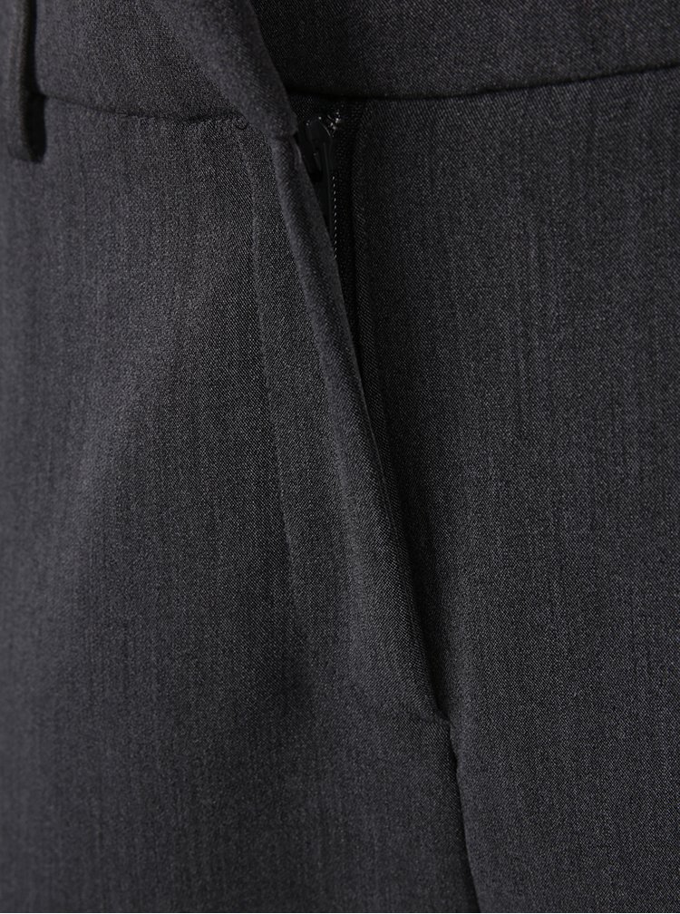Pantaloni țigaretă gri - Selected Femme Amila