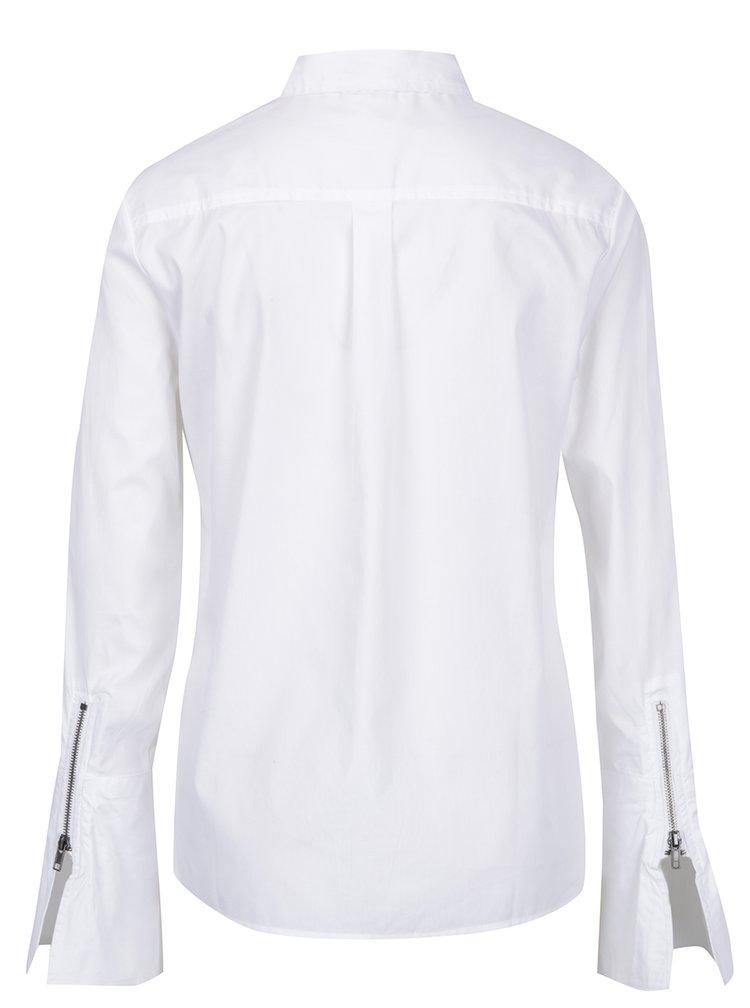 Bílá košile se zvonovými rukávy Noisy May Conansa