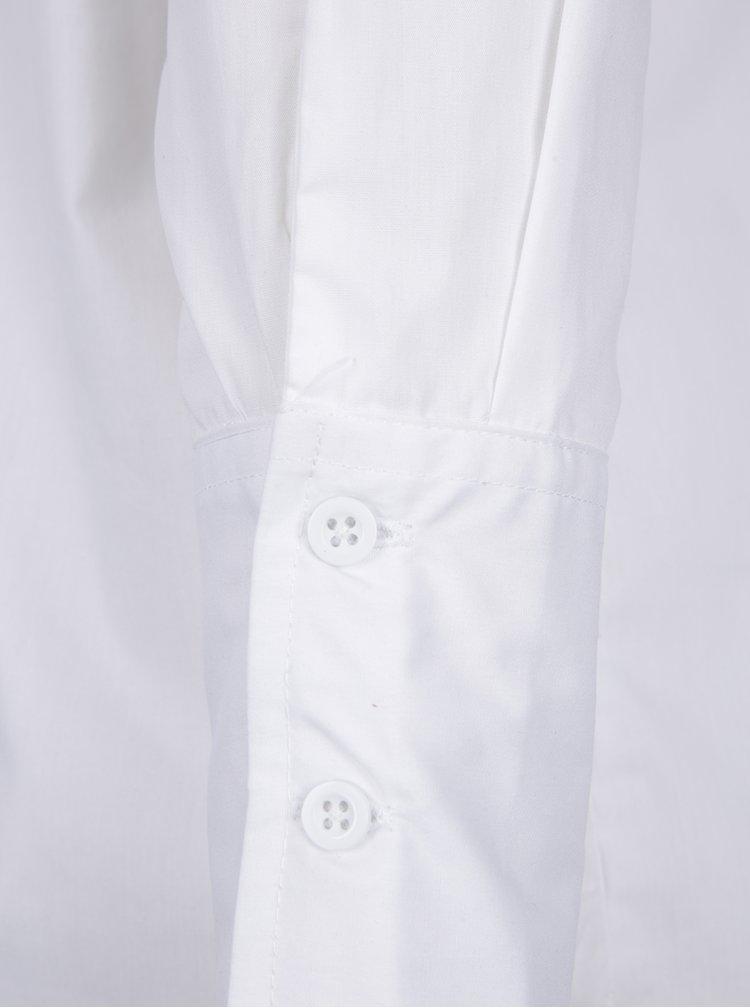 Bílá košile s volánem na zádech Noisy May Conansa