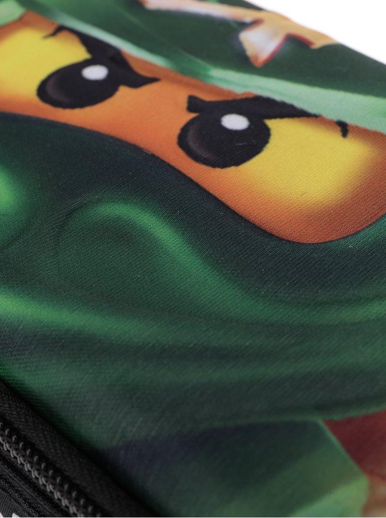 Zeleno-černý klučičí penál LEGO Wear Ninjago Lloyd