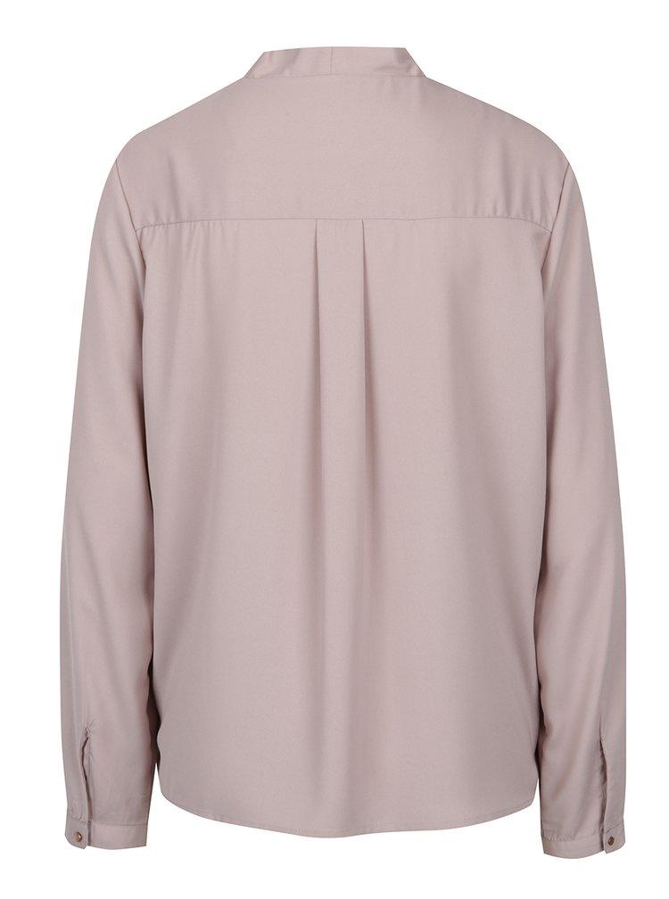 Bluza - cardigan roz pudrat - VERO MODA Emma