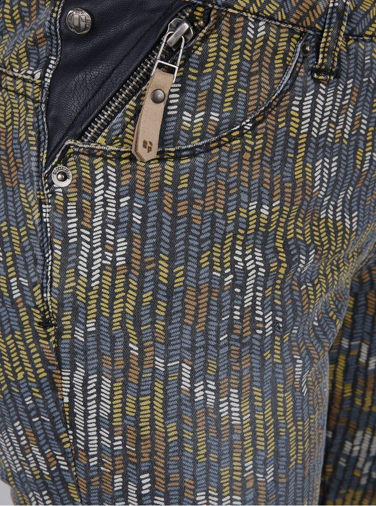 Pantaloni skinny multicolori de dama cu model Garcia Jeans Riva