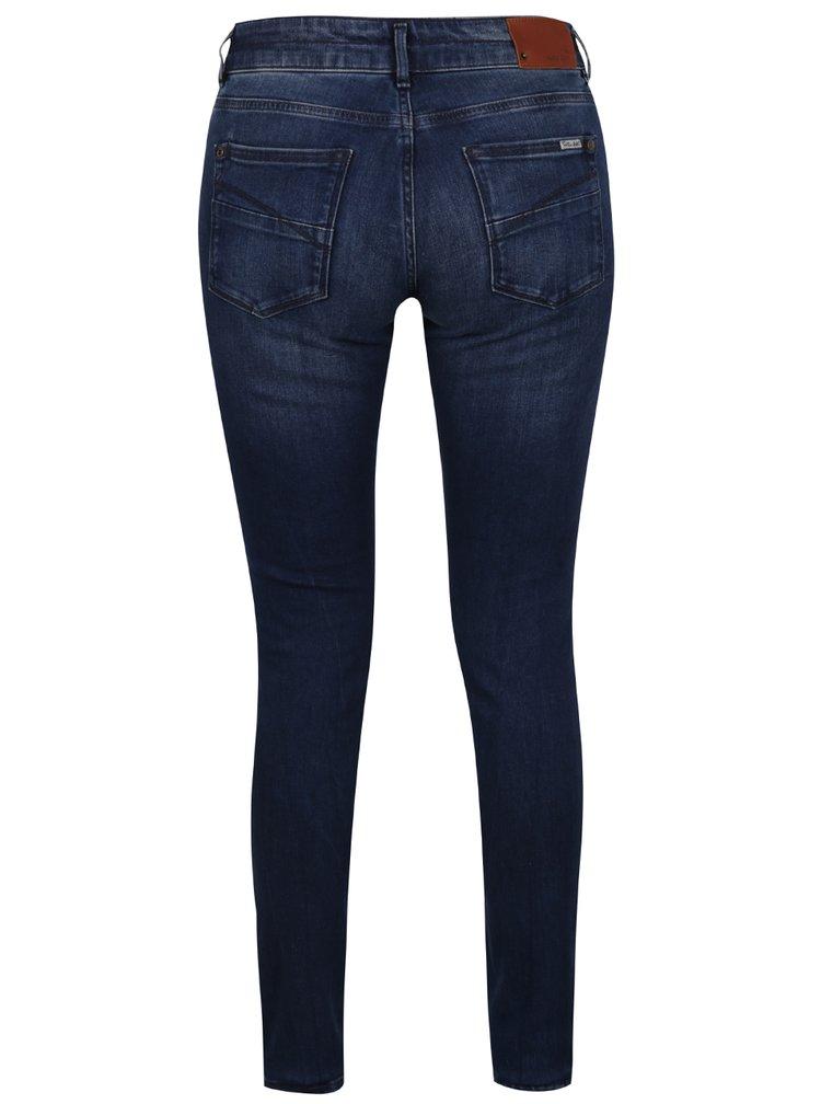 Blugi bleumarin de dama cu croi slim fit Garcia Jeans Rachelle