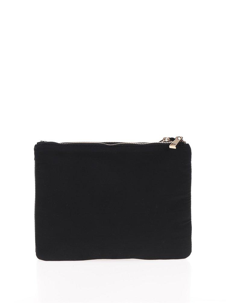 Geanta crossbody neagra detalii aurii - M&Co