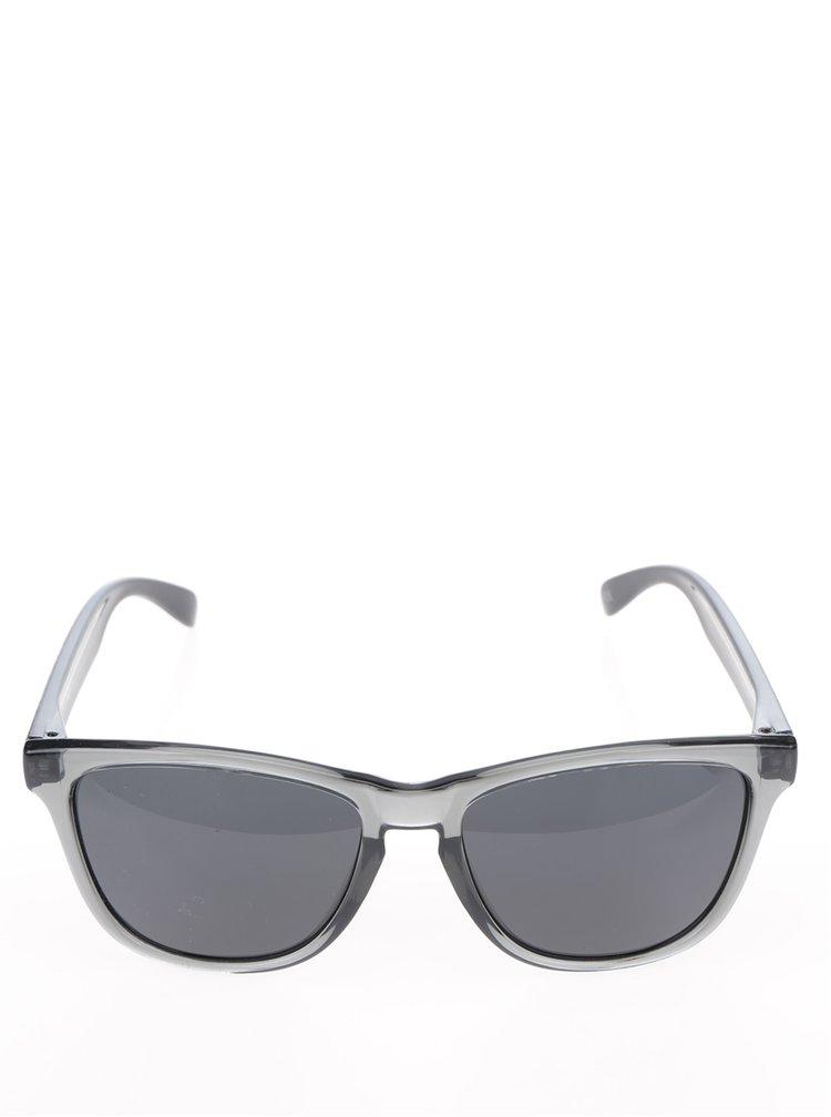 Ochelari de soare gri unisex cu lentile polarizate  - Emoji Alien
