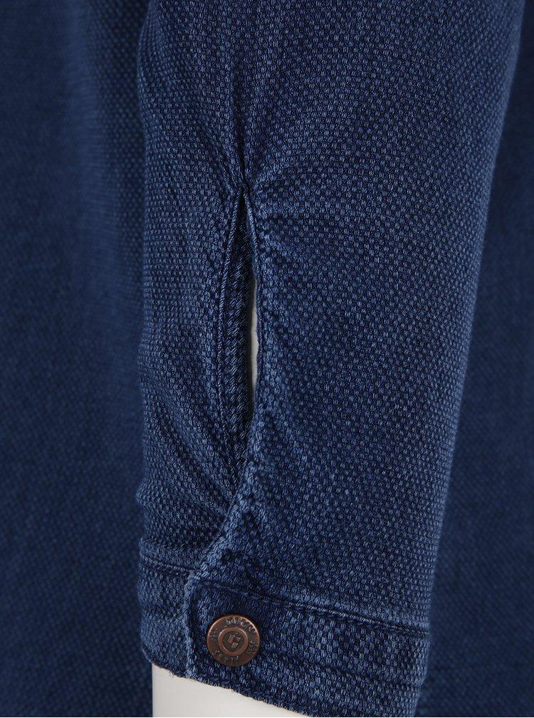 Tmavě modré dámské tričko Garcia Jeans