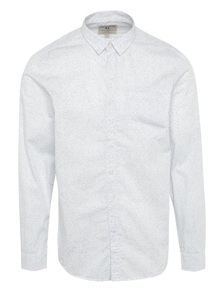 Cămașă albă regular fit  pentru bărbați Garcia Jeans
