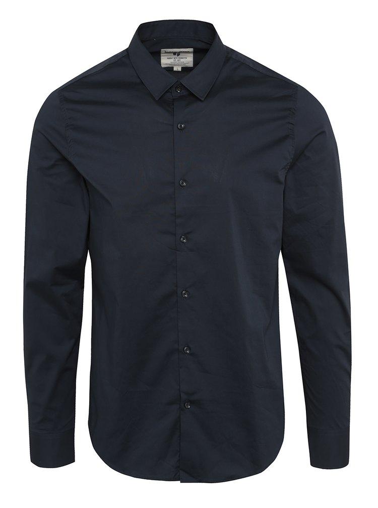Tmavě modrá pánská formální košile s dlouhým rukávem Garcia Jeans Dario