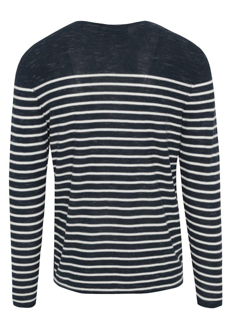 Bluză bleumarin&alb cu dungi Garcia Jeans pentru bărbați