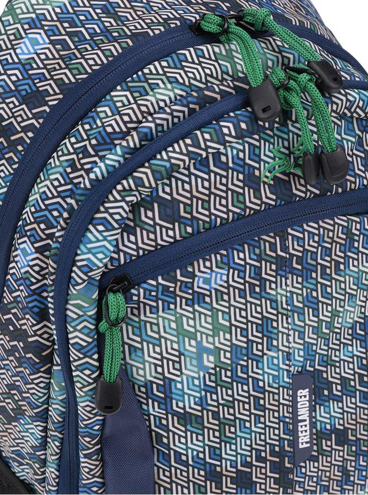 Rucsac cu print geometric  Freelander Multi Compartment