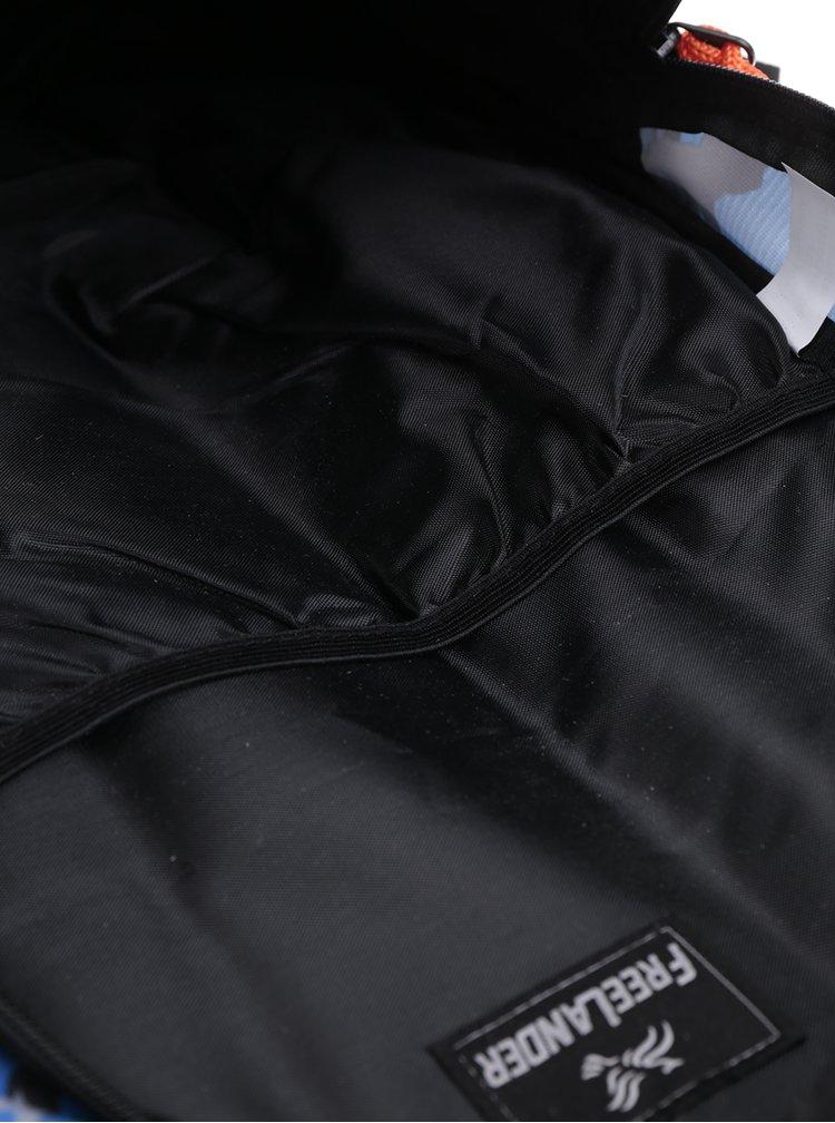 Modrý klučičí vzorovaný batoh Freelander Multi Compartment 30 l