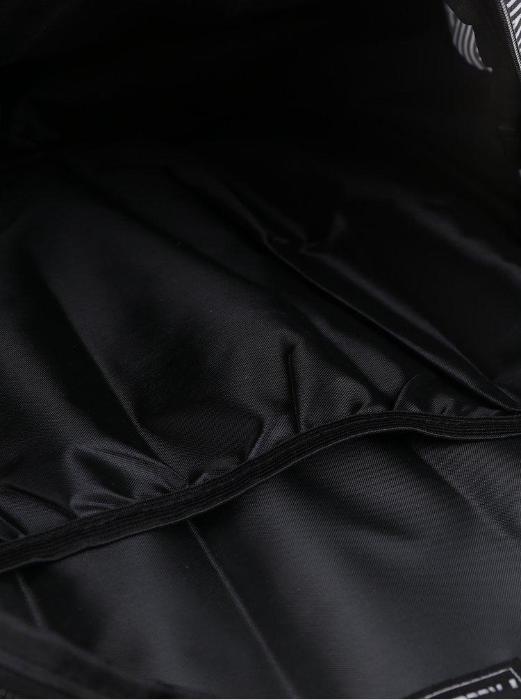 Černo-bílý klučičí vzorovaný batoh Freelander Multi Compartment 30 l