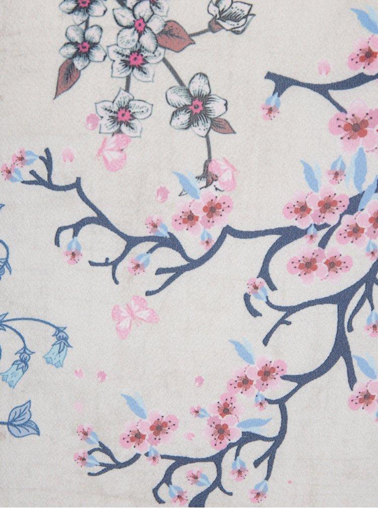 Bluza crem cu imprimeu floral - M&Co