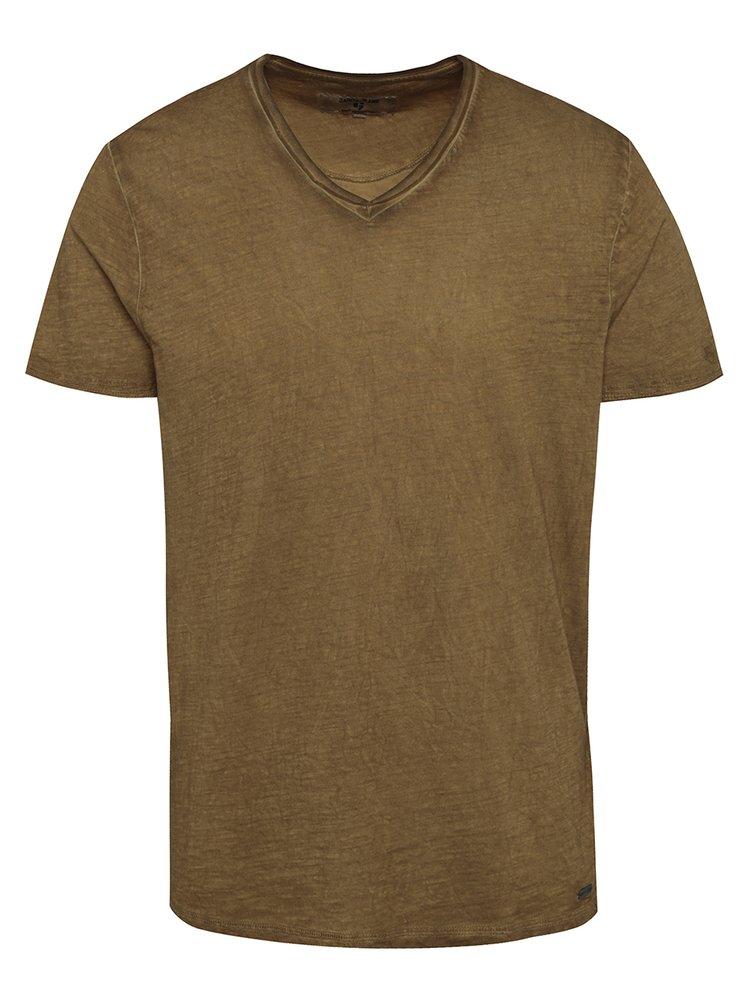 Tricou maro pentru barbati Garcia Jeans Marco