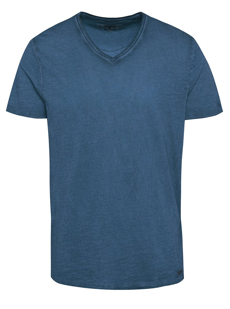 Tricou albastru pentru barbati Garcia Jeans Marco