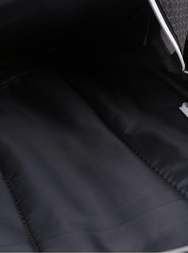 Černý klučičí vzorovaný batoh s 3D potiskem Freelander Striker