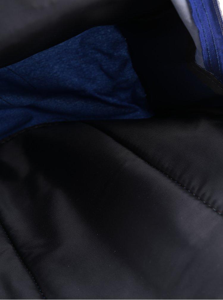 Modro-červený klučičí vzorovaný batoh s 3D potiskem Freelander Striker