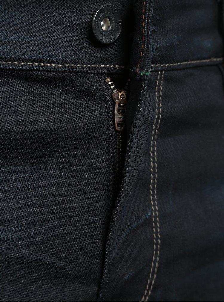 Tmavě modré pánské superslim džíny Garcia Jeans Femo