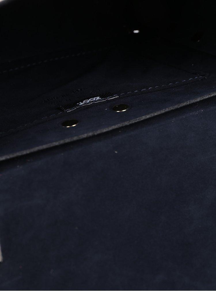 Béžová kožená crossbody kabelka ZOOT