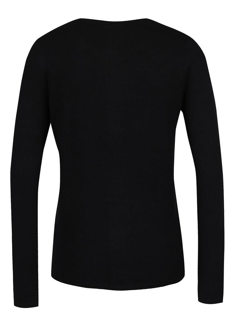 Černý dámský kardigan na zip M&Co